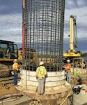 Hanson is designing foundations for more than 2,200 transmission line structures and providing construction quality assurance during installation.