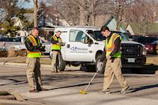 Hanson provided Pavement Condition Index (PCI) surveys for more than 9 million square yards of roads, parking and tank trails at Fort Hood in Killeen, Texas.
