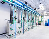 Hanson provided engineering services for a 25,700-square-foot addition that included installation of a geothermal variable refrigerant flow (VRF) HVAC system at Glenwood High School in Chatham, Illinois.