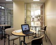 The facility provides students with accessible, efficient services.