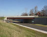 The $9.2 million Fairfield and Gilmer interchange improvement in Lake County, Ill., was the first grade-separated interchange constructed on Lake County's highway system.