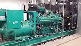 Assessments of equipment, such as this emergency standby generator at Fort Riley in Kansas, are part of the QA/QC services Hanson has provided for the BUILDER asset management implementation.