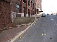 The project team improved accessibility along Washington Street for people with disabilities, complying with public rights-of-way accessibility guidelines.