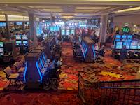 The completed 223,900-square-foot casino includes an additional 1,000 slots and 41 table games throughout its new gaming spaces.
