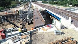 Construction of Springfield's Ash Street underpass started in 2017, and completion is anticipated for 2019.