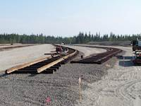 The U.S. Army Corps of Engineers (USACE) selected a design-build team, led by DV Contracting and including Hanson Professional Services Inc., to develop a new railhead facility at Fort Wainwright, Alaska.