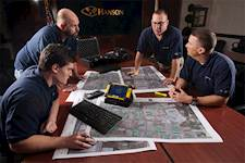 Hanson conducted in-house training for inspectors and equipped them with handheld computers featuring integrated wireless, geo-coding cameras and GPS for locating and delineating sample boundaries in the field.