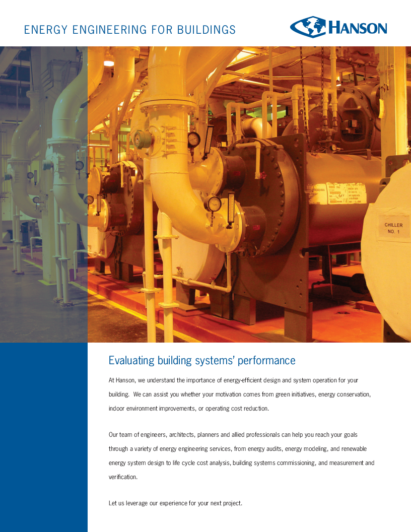 Cover image for Energy engineering services for buildings